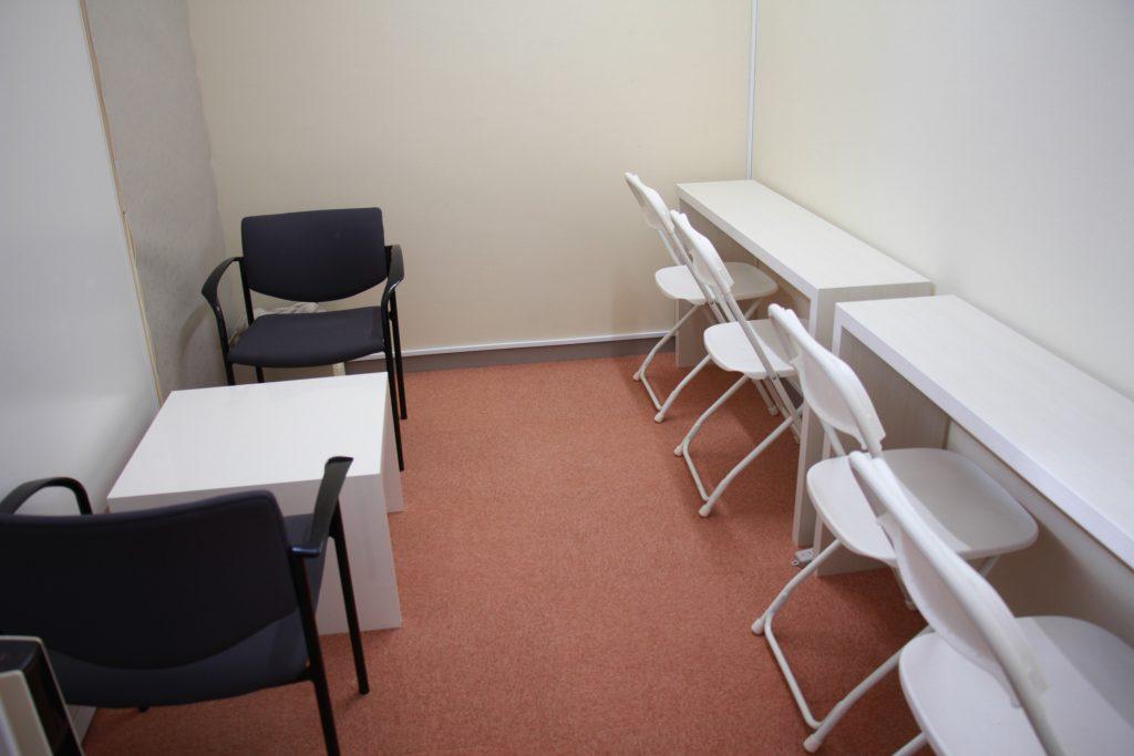控え室(楽屋・更衣スペース)